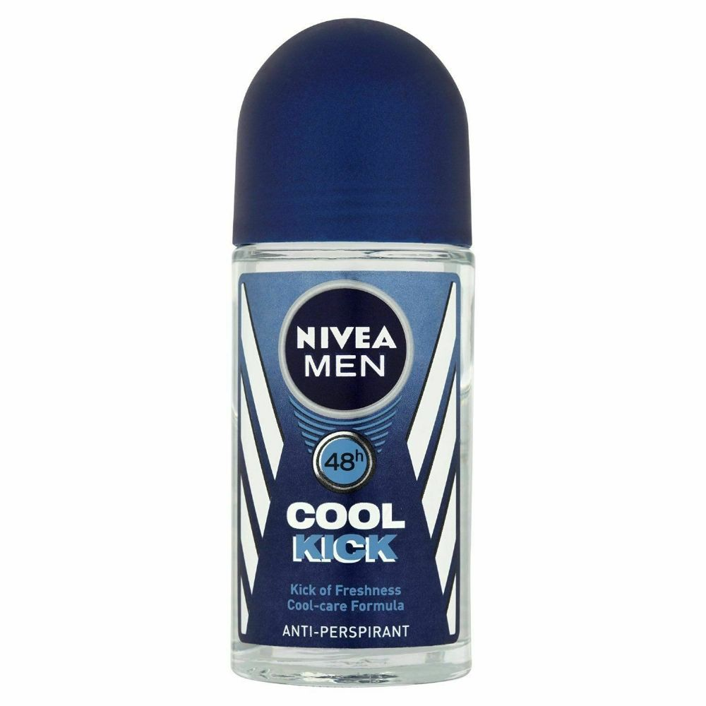 Nivea Men Cool Kick - 50ml - Anti-Perspirant Roll On 48h